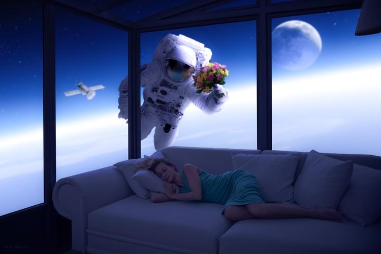 Umjetnička fotografija Space Lover