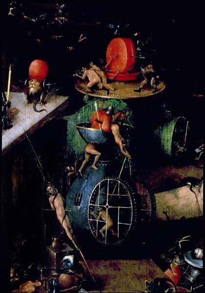 The Last Judgement : Detail of an Urn Reprodukcija umjetnosti