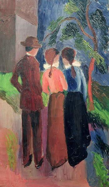 The Walk, 1914 Reprodukcija umjetnosti