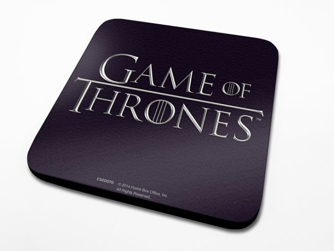 Game of Thrones - Logo underlägg