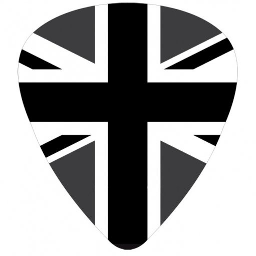 UNION JACK - dark  Autocolant