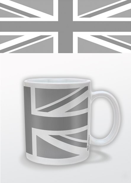 Mok Union Jack (Zwart Wit)