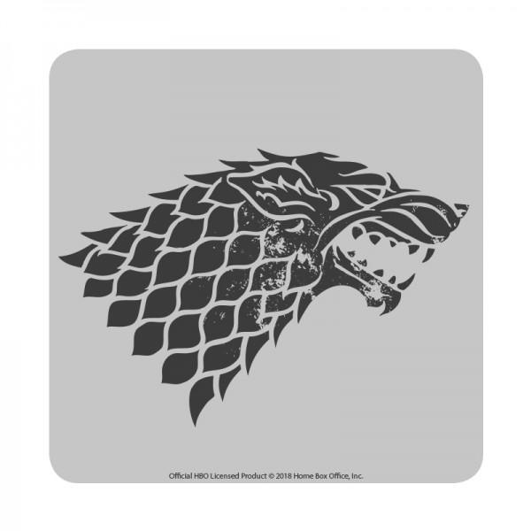 Game of Thrones - Stark Untersetzer