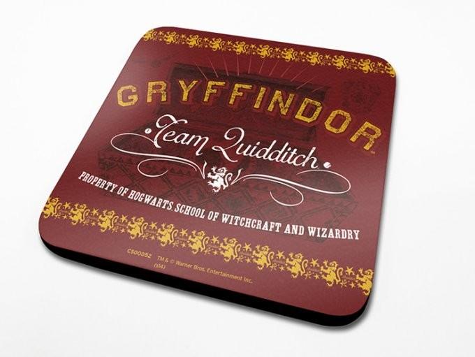 Harry Potter - Team Quidditch Untersetzer