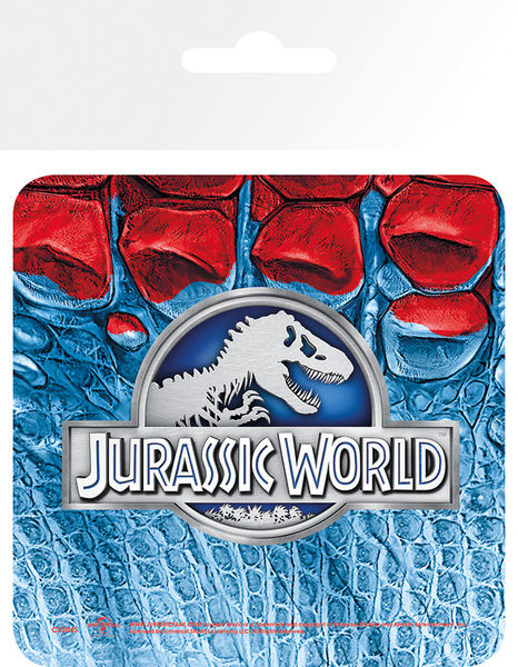 Jurassic Park IV: Jurassic World - Logo Untersetzer