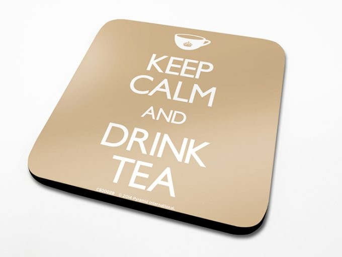 Keep Calm, Drink Tea Untersetzer