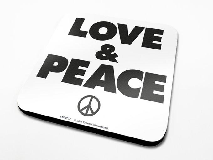 Love & Peace Untersetzer