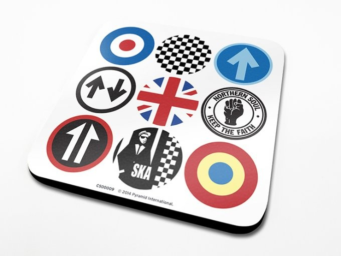 Mod and Ska Icons Untersetzer