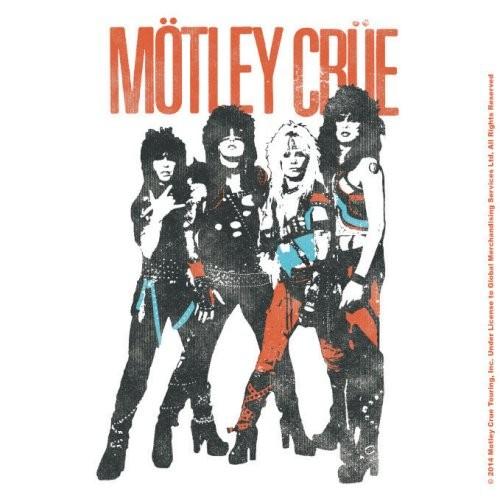 untersetzer motley crue vintage world tour