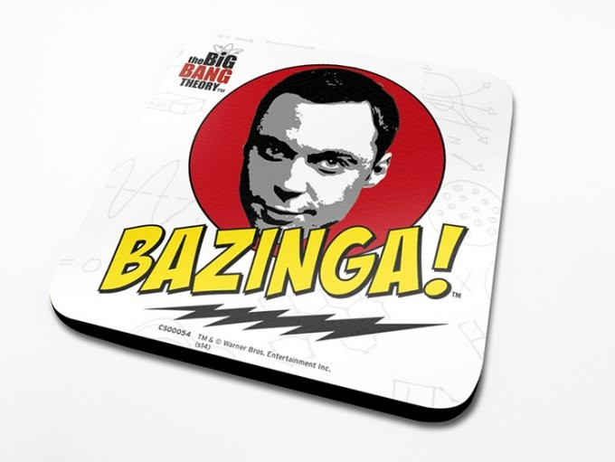 The Big Bang Theory - Bazinga Untersetzer