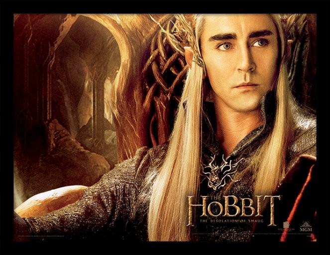 THE HOBBIT: THE DESOLATION OF SMAUG - thranduil Uramljeni poster