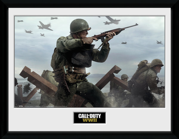 Call Of Duty: Stronghold - WWII Shooter Uokvirjeni plakat