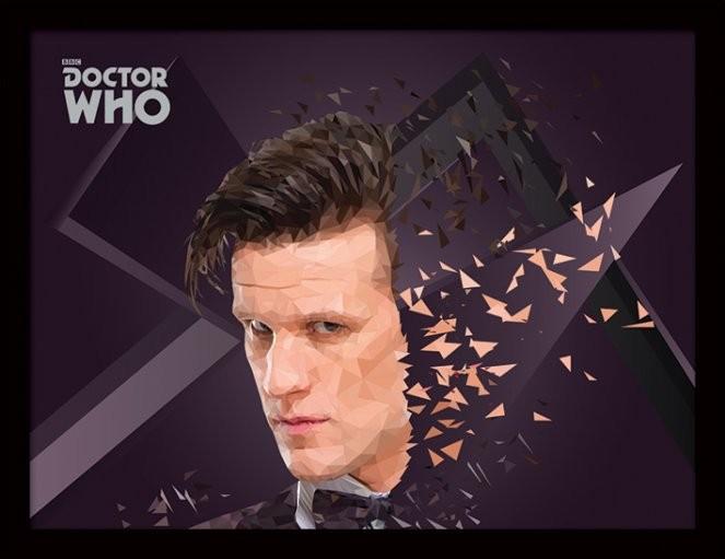 Doctor Who - 11th Doctor Geometric Uokvirjen plakat-pleksi