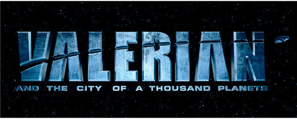 Hrnek Valerian a město tisíce planet - Logo