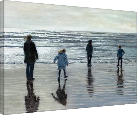 Vászon Plakát Andrew McNeile Jones - Testing The Waves