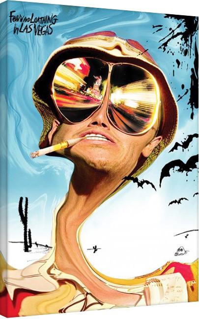 Vászon Plakát Félelem és reszketés Las Vegasban