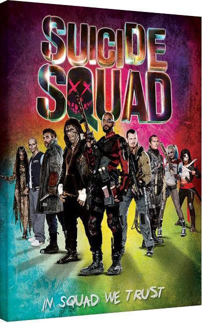 Vászon Plakát Suicide Squad - Öngyilkos osztag  - Neon