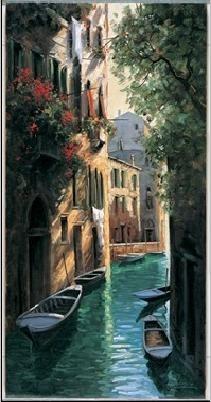 Venetian reflections Festmény reprodukció