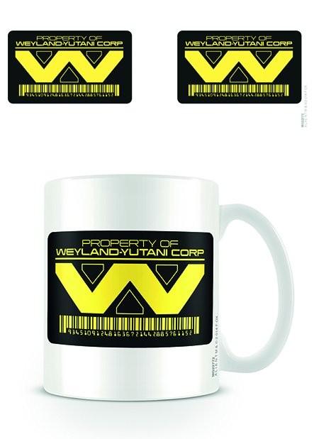Hrnek Vetřelec (Alien) - Weyland Yutani Corp