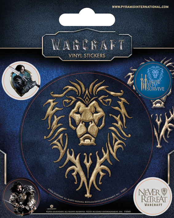 Warcraft - The Alliance Vinilne nalepka