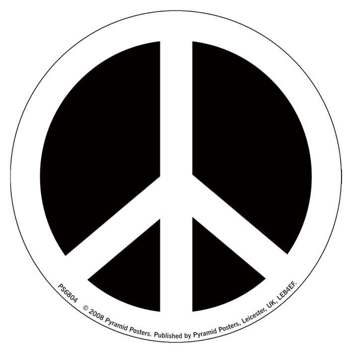 CND - symbol Vinilna naljepnica