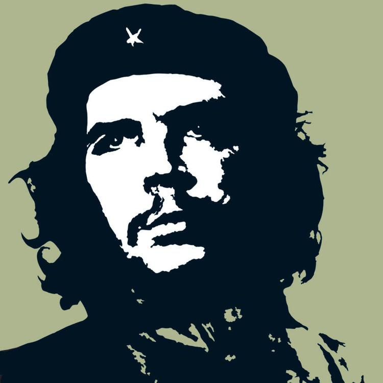 CHE GUEVARA - green Vinylklistermärken