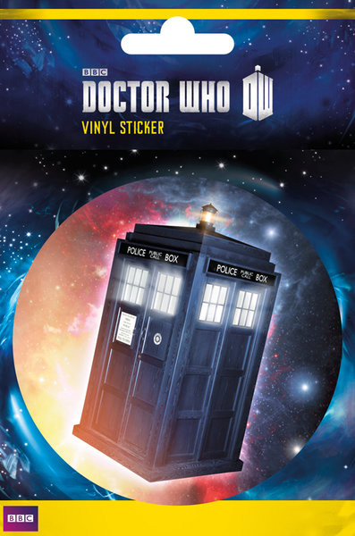 Doctor Who - Tardis Vinylklistermärken