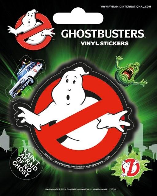 Ghostbusters - Logo Vinylklistermärken