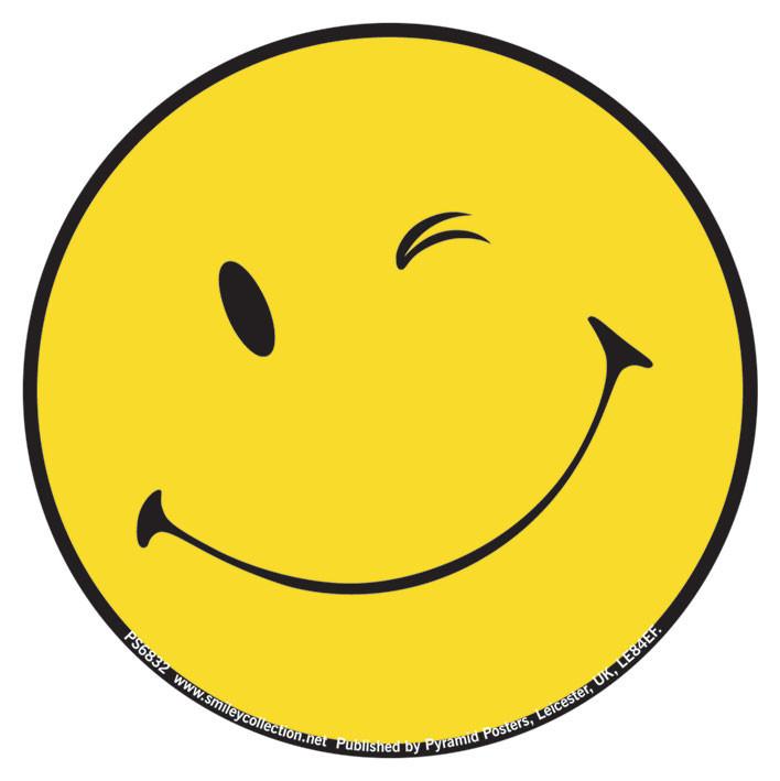 Vinylklisterm 228 Rken Smiley Wink P 229 Europosters Se