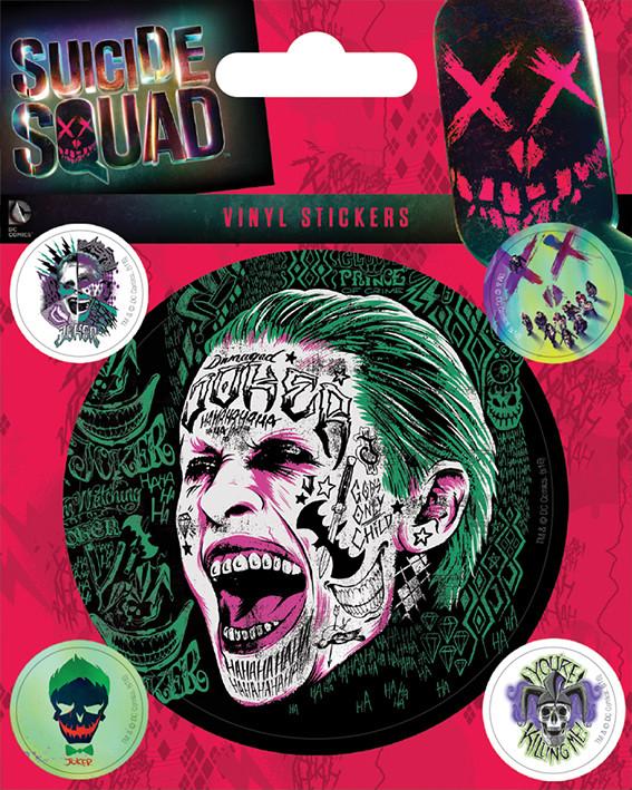 Suicide Squad - Joker Vinylklistermärken