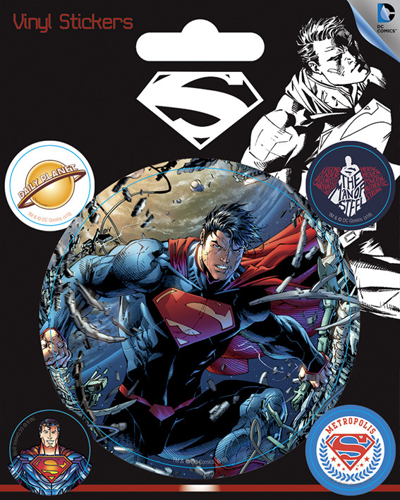 DC Comics - Superman Vinyl klistermærker