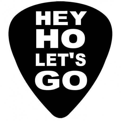 RAMONES - hey ho Vinyl klistermærker