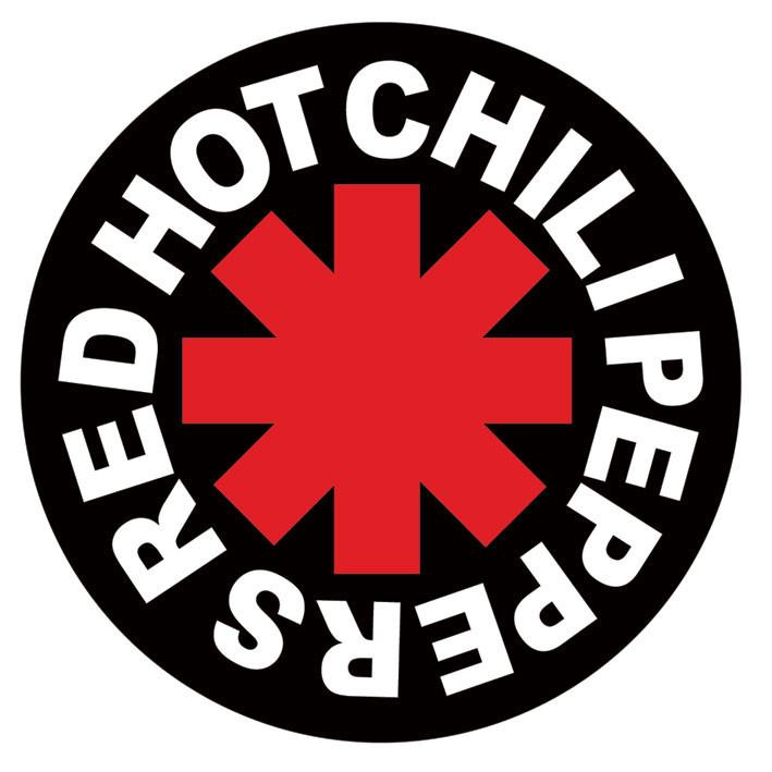 RED HOT CHILI PEPPERS - logo Vinyl klistermærker