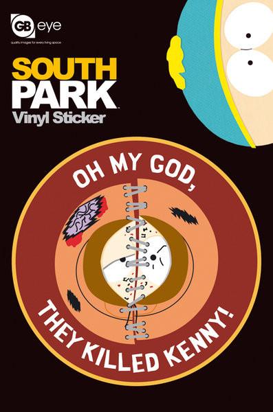 SOUTH PARK - kenny  Vinyl klistermærker