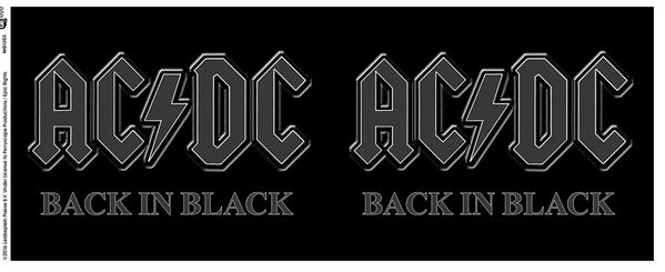 AC/DC - Back in Black Skodelica