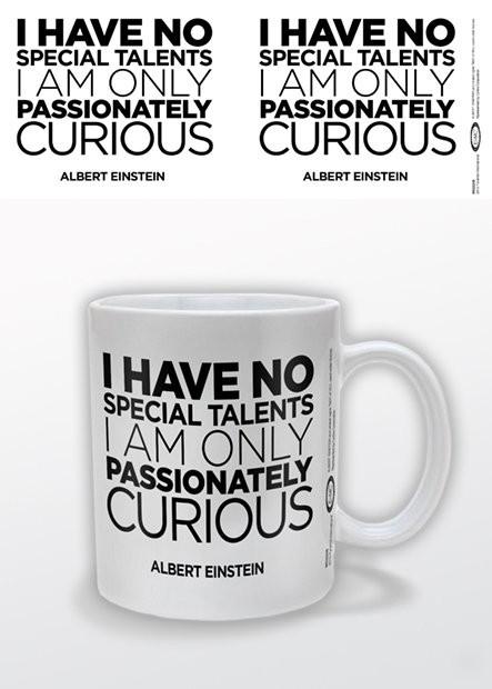 Albert Einstein - Only Curious Vrč