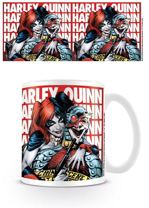 Batman - Harley Quinn Hostage Skodelica