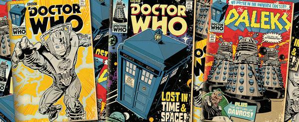 Doctor Who - Comics Skodelica