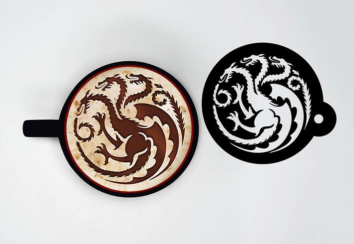 Game Of Thrones - Targaryen Skodelica