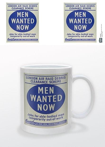 Skodelica IWM - Men Wanted Now