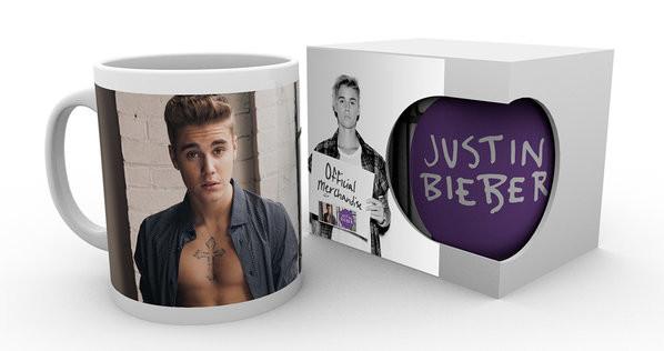 Justin Bieber - Shirt  (Bravado) Skodelica