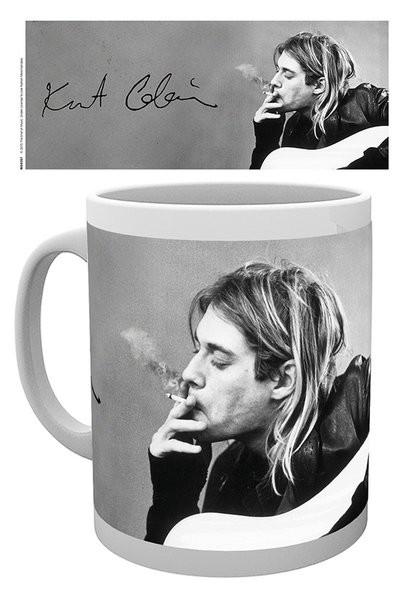 Kurt Cobain - Smoking Skodelica