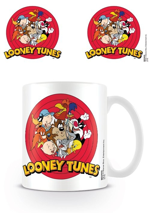 Skodelica Looney Tunes - Logo