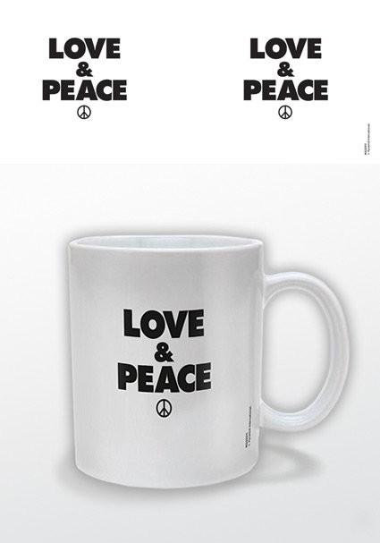 Love & Peace Skodelica