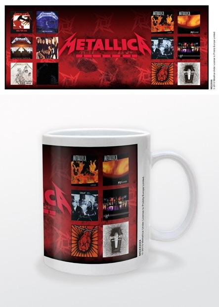 Metallica - Albums Skodelica