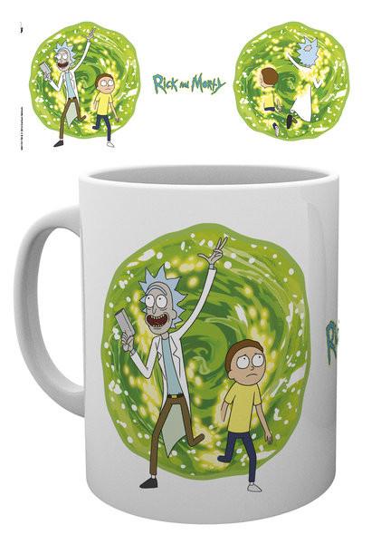 Rick And Morty - Portal Skodelica