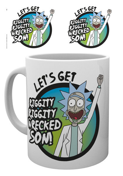 Rick And Morty - Wrecked Skodelica