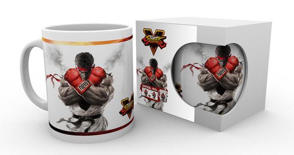 Street Fighter 5 - Key Art Skodelica