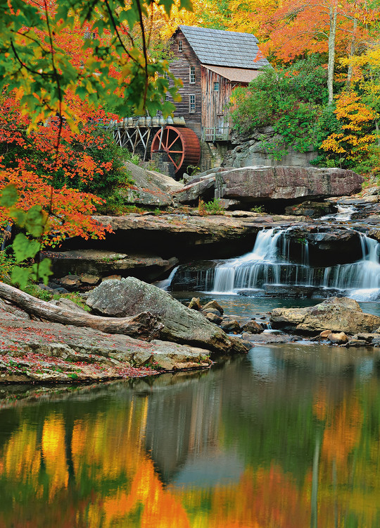 GRIST MILL Poster Mural