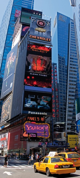 New York - Times Square Poster Mural